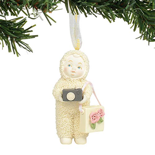 Department 56 Snowbabies Oh Snap Hanging Ornament, 3.125″, Multicolor