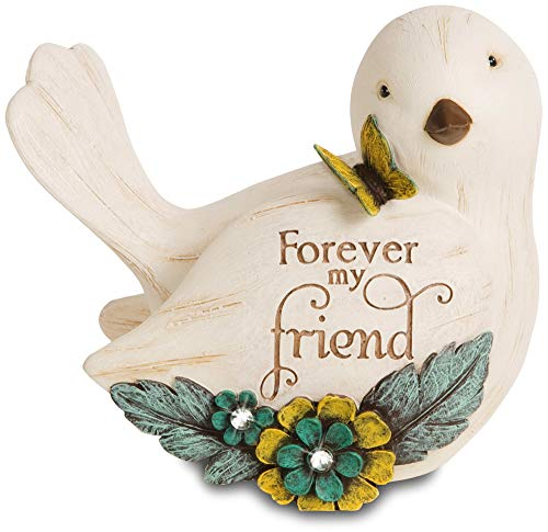 Pavilion Gift Company 41044 Simple Spirits Forever My Friend Bird Figurine, 3-1/2-Inch