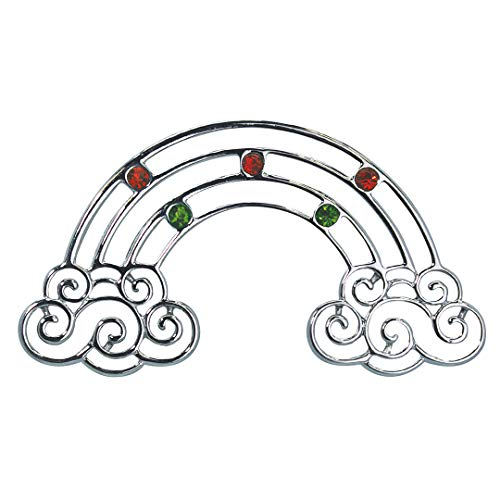 Island Heritage Jewel Metal Hawaiian Christmas Ornament – Rainbow