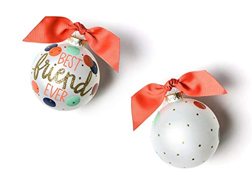 Coton Colors Best Friend Ever Glass Ornament