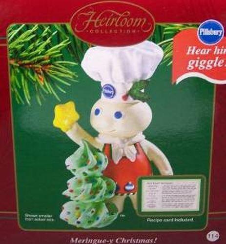 Carlton Cards 2003 Meringue-y Christmas! Pillsbury Doughboy Ornament COXR-104J