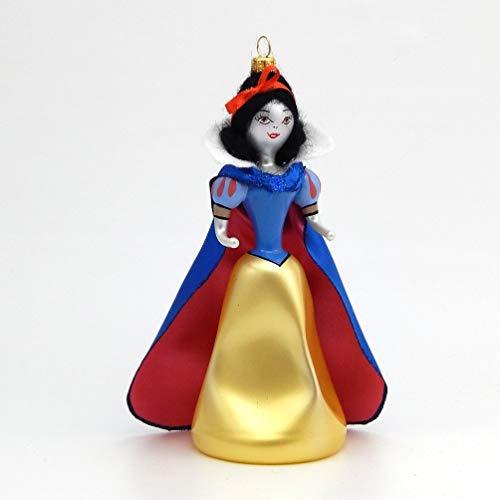 De Carlini – Snow White – Italian Glass Christmas Tree Ornament
