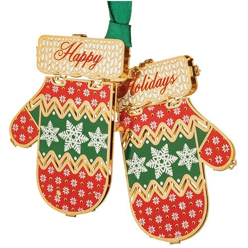 Beacon Design ChemArt Ornament – Holiday Mittens