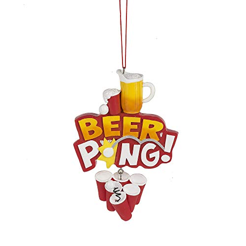 "Midwest-CBK ""Beer Pong! Ornament."