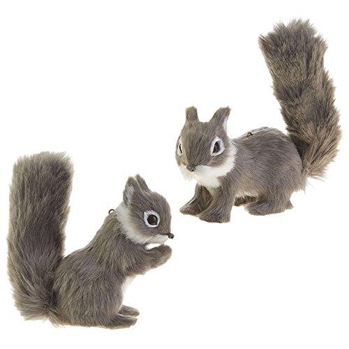 RAZ Imports 4″ Fuzzy Squirrel