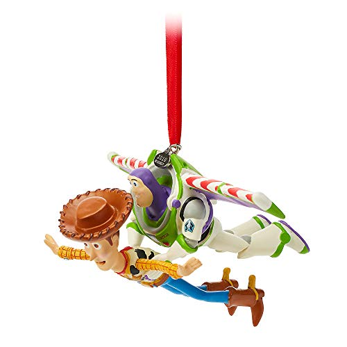 Disney Buzz and Woody Sketchbook Ornament – Toy Story