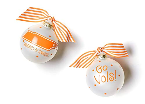 Coton Colors University of Tennessee Glass Ornament – State