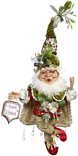 Mark Roberts 5185554 Small 10″ Mistletoe Mischief Elf 2018