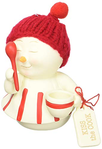 Department 56 Snowpinions Kiss The Cook Hanging Ornament, 3.25″, Multicolor