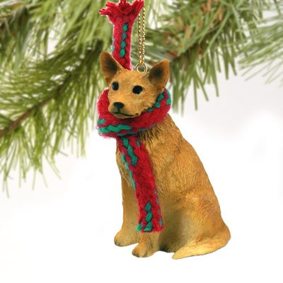 Conversation Concepts Australian Cattle Red Dog Original Ornament (Set of 6)