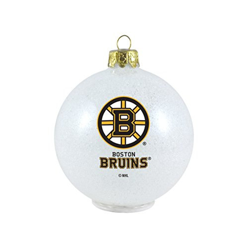 NHL Boston Bruins LED Color Changing Ball Ornament