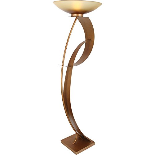 Van Teal 811681 Magic Lady You Will Remember Torchiere, Sienna Gold
