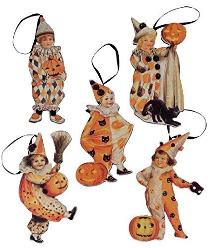 Bethany Lowe Halloween Children Dummyboard Ornaments