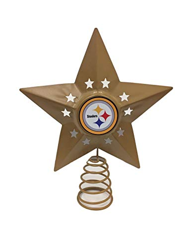 NFL Metal Tree Topper (Variety of Teams to Choose from) (Pittsburgh Steelers)