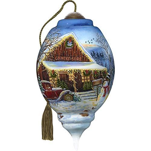 Ne'Qwa Standard Trillion Snowman Country Store Christmas, Multi