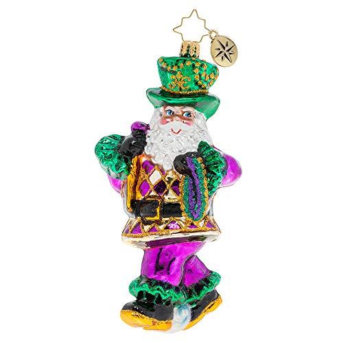 Christopher Radko Throw Me Somethin', Mister Christmas Ornament, Multicolor