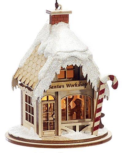 Santa's Workshop Christmas Ornament