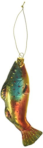 Department 56 Gone to the Beach Coast Brook Trout Hanging Ornament