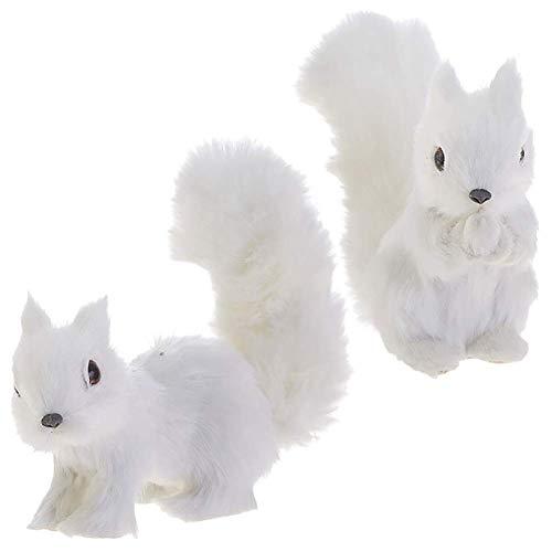 Raz – Squirrel Ornaments – Set of 2
