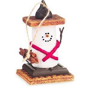 S'mores Original Boy Scout's Set Of 2 Ornaments