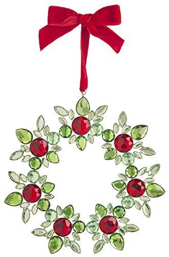 Ganz Crystal Expressions Acrylic 6″ Christmas Holiday Mini Wreath