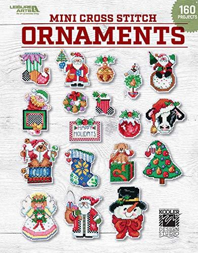 Mini Cross Stitch Ornaments: 160 Festive Quick-to Stitch Ornaments to Finish in No Time