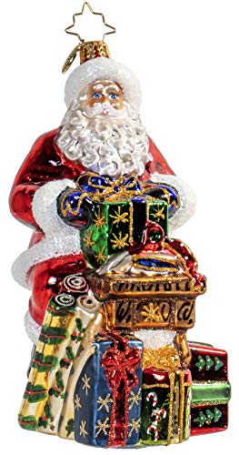Christopher Radko Workshop Wonders Santa Claus Christmas Ornament