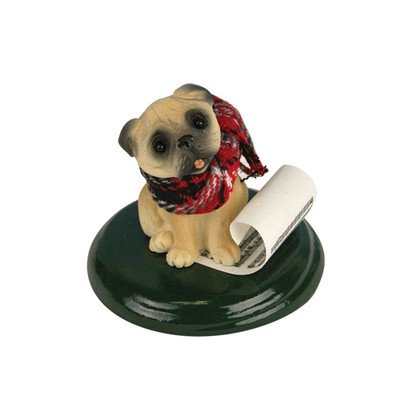 Byers' Choice Pug Dog #614S