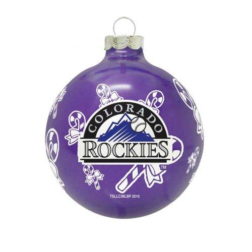 MLB Colorado Rockies Traditional 2 5/8″ Ornament