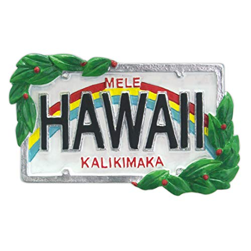 Island Heritage Hawaiian License Plate Hawaii Christmas Ornament