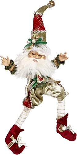 Mark Roberts Elves 51-97008 Northpole 2 Turtle Doves Elf Small 13 Inches