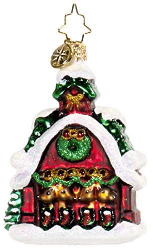 Christopher Radko Goodnight Donner, Goodnight Blitzen! Gem Collection Christmas Ornament
