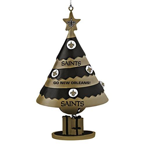 NFL New Orleans Saints Tree Bell Ornament