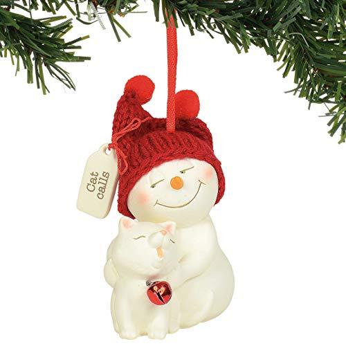 Department 56 Snowpinions Cat Calls Hanging Ornament, 3.125″, Multicolor