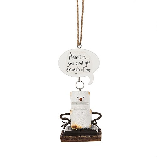 "Midwest-CBK Toasted S'mores ""Admit It… You Can't Get Enough of Me"" Ornament"