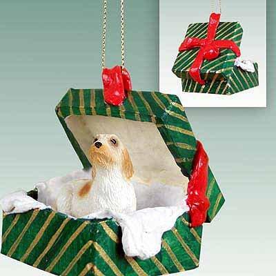 Conversation Concepts Petit Basset Griffon Vendeen Gift Box Green Ornament