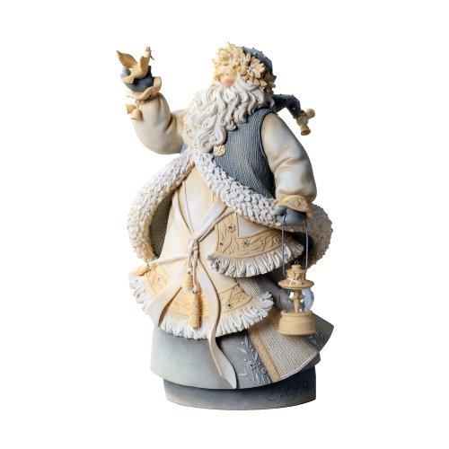 Foundations by Enesco Peace Masterpiece Santa Figurine