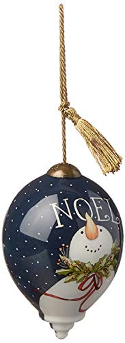 Ne'Qwa Petite Princess Snowman Noel Ornament, Multi