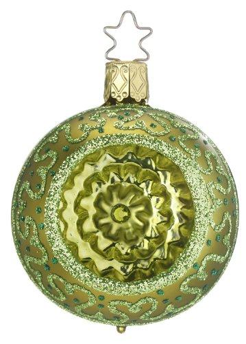 Inge Glas Reflector Gem Reflections – Lemon Lime 1-097-12d German Christmas Orn