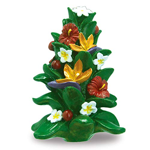 Island Heritage Hawaiian Festival Floral Tree Hawaii Christmas Ornament