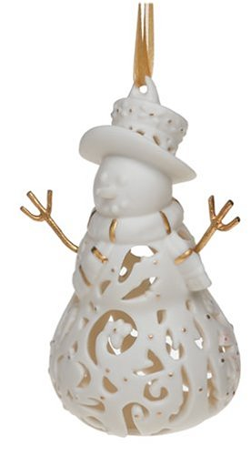 Wedgwood Snowman Ornament