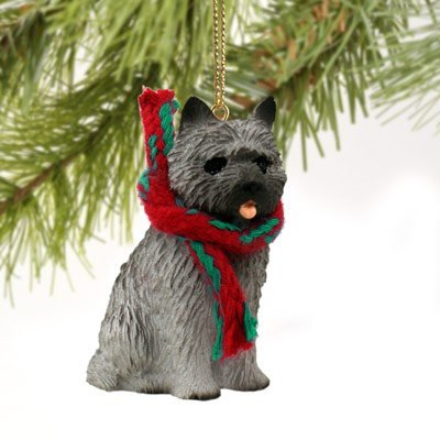 Conversation Concepts Cairn Terrier Gray Original Ornament