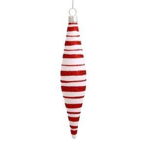 Vickerman 55″ Candy Cane Teardrop Ornament 6 per Box