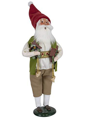 Byers' Choice Cuckoo Clock Santa Caroler Figurine from The Santa Collection #3196 (New 2019)
