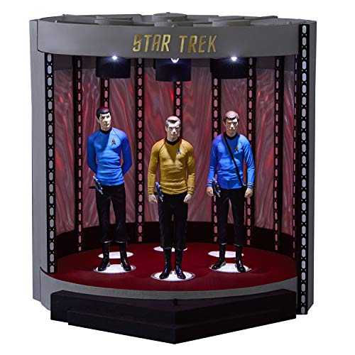 Keepsake Christmas Ornament 2019 Year Dated Star Trek The Transporter Tabletop Decoration with Light and Sound