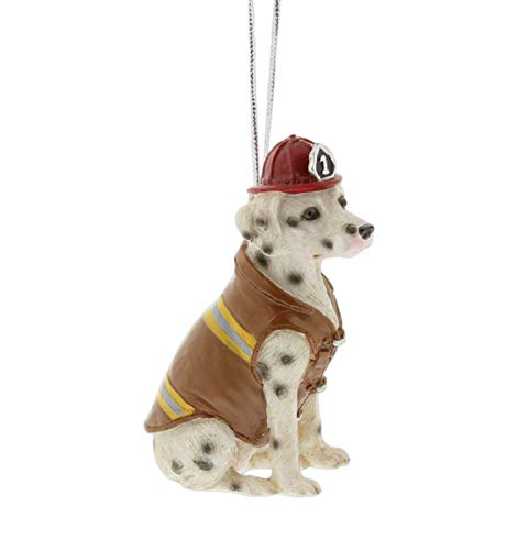 Midwest Novelty Firehouse Dalmatian Ornament