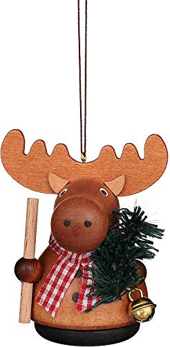 Christian Ulbricht Tree Ornament – Teeter Man Moose Natural – 7,5 cm / 3 inch