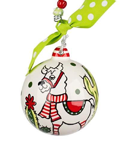 Glory Haus Have a Llamazing Christmas Ball Ornament 20110124