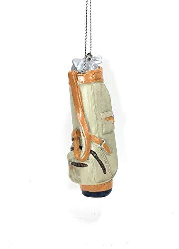 Midwest-CBK Tan Golf Club Bag Ornament