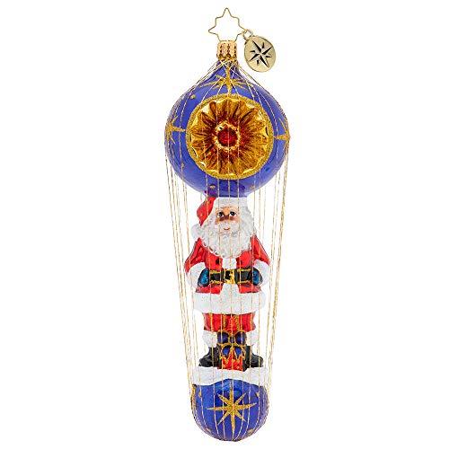 Christopher Radko Dashing Santa Delivery Christmas Ornament